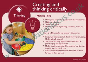 EYFS Characteristics of Effective Learning resources Poster