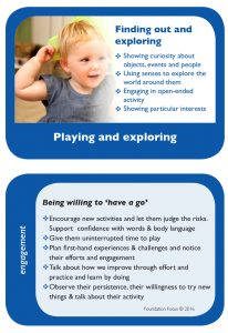 eyfs characteristics of effective learning poster coel eyfs